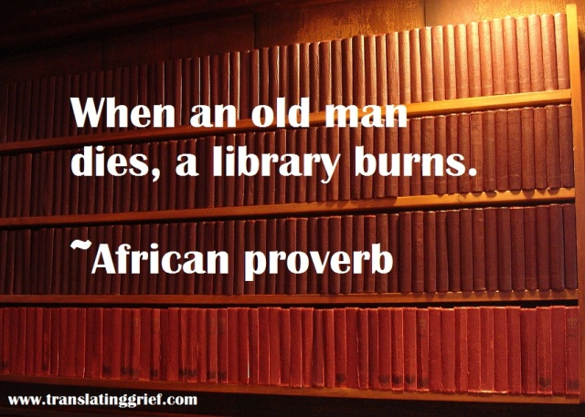 library burns